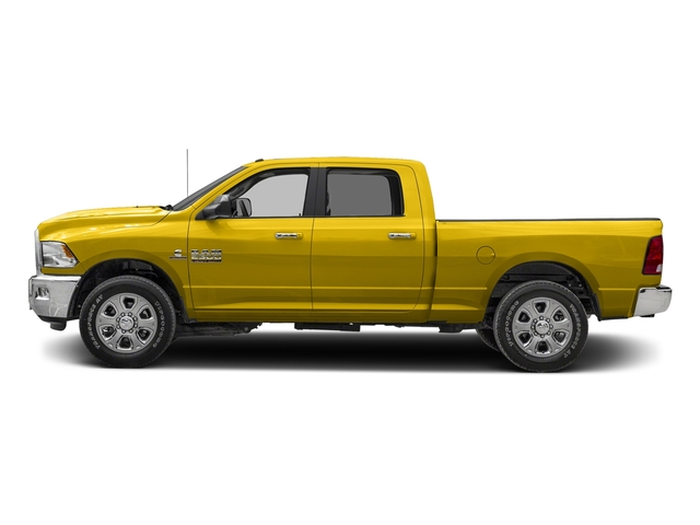 Yellow 2017 Ram Truck 2500 Pictures 2500 Crew Cab SLT 2WD photos side view