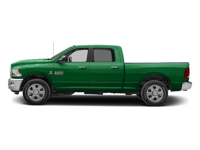 Bright Green 2017 Ram Truck 2500 Pictures 2500 Crew Cab SLT 2WD photos side view