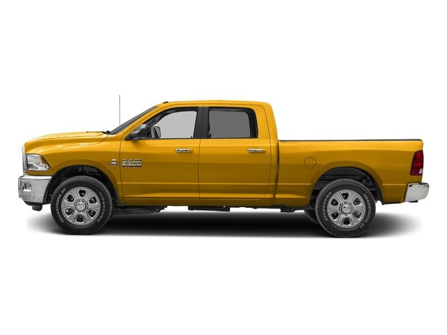 Construction Yellow 2017 Ram Truck 2500 Pictures 2500 Crew Cab SLT 2WD photos side view