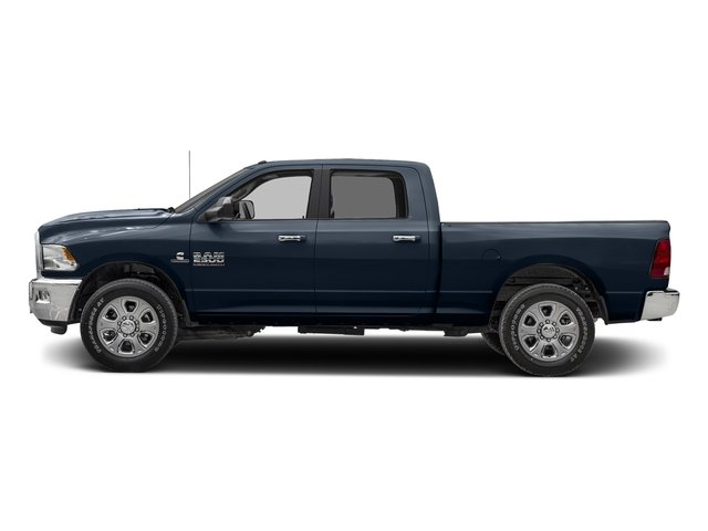 True Blue Pearlcoat 2017 Ram Truck 2500 Pictures 2500 SLT 4x2 Crew Cab 8' Box photos side view