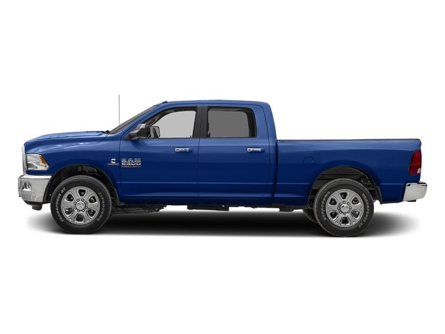 Blue Streak Pearlcoat 2017 Ram Truck 2500 Pictures 2500 SLT 4x2 Crew Cab 8' Box photos side view
