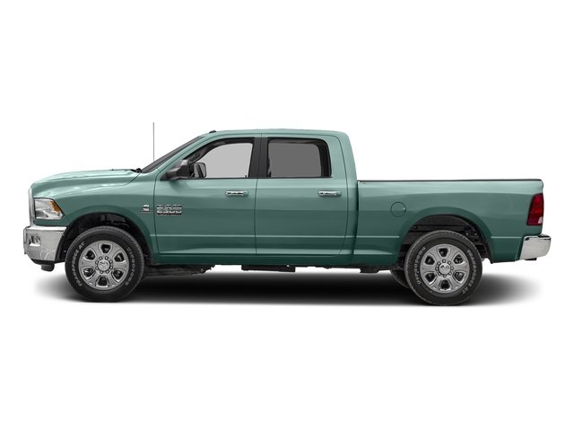 Light Green 2017 Ram Truck 2500 Pictures 2500 SLT 4x2 Crew Cab 8' Box photos side view