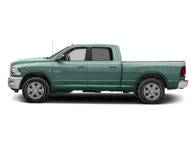 Light Green 2017 Ram Truck 2500 Pictures 2500 Crew Cab SLT 2WD photos side view