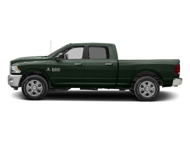 Black Forest Green Pearlcoat 2017 Ram Truck 2500 Pictures 2500 SLT 4x2 Crew Cab 8' Box photos side view