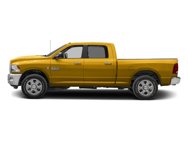 School Bus Yellow 2017 Ram Truck 2500 Pictures 2500 SLT 4x2 Crew Cab 8' Box photos side view