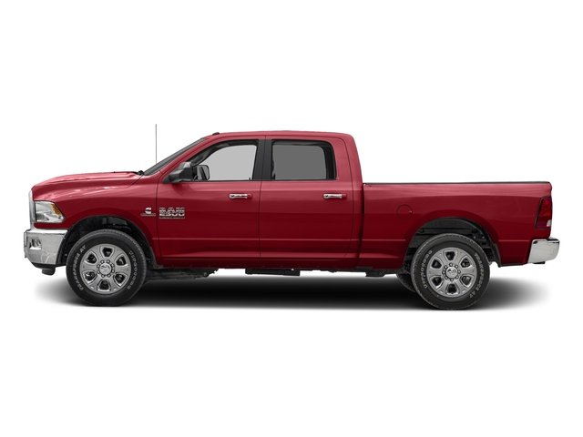 Flame Red Clearcoat 2017 Ram Truck 2500 Pictures 2500 Crew Cab SLT 2WD photos side view