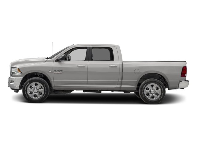Bright Silver Metallic Clearcoat 2017 Ram Truck 2500 Pictures 2500 SLT 4x2 Crew Cab 8' Box photos side view
