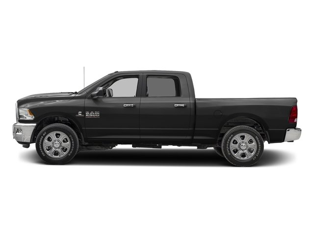 Brilliant Black Crystal Pearlcoat 2017 Ram Truck 2500 Pictures 2500 Crew Cab SLT 2WD photos side view