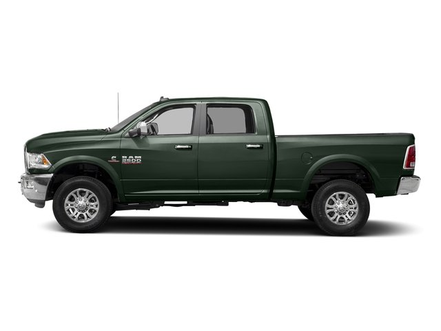 Black Forest Green Pearlcoat 2017 Ram Truck 2500 Pictures 2500 Laramie 4x2 Crew Cab 8' Box photos side view