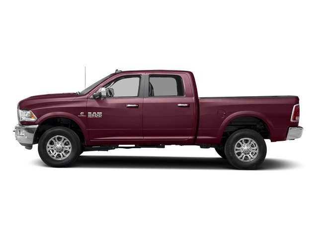 Delmonico Red Pearlcoat 2017 Ram Truck 2500 Pictures 2500 Laramie 4x2 Crew Cab 8' Box photos side view