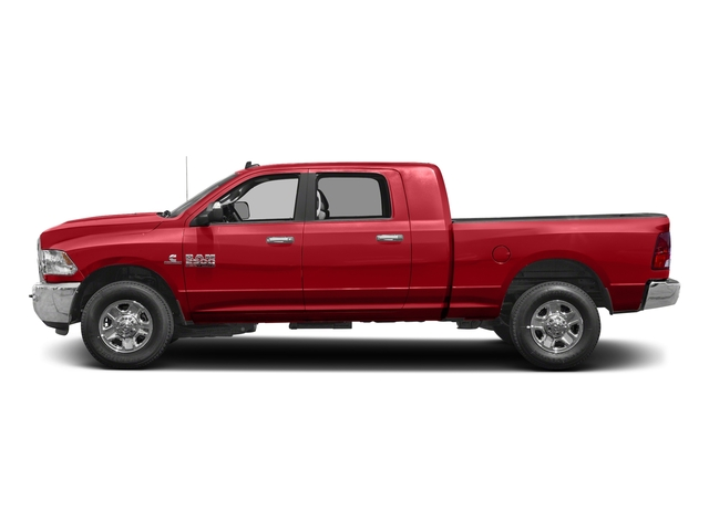 Bright Red 2017 Ram Truck 2500 Pictures 2500 SLT 4x2 Mega Cab 6'4 Box photos side view