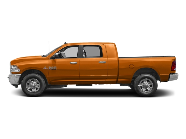 Omaha Orange 2017 Ram Truck 2500 Pictures 2500 SLT 4x2 Mega Cab 6'4 Box photos side view