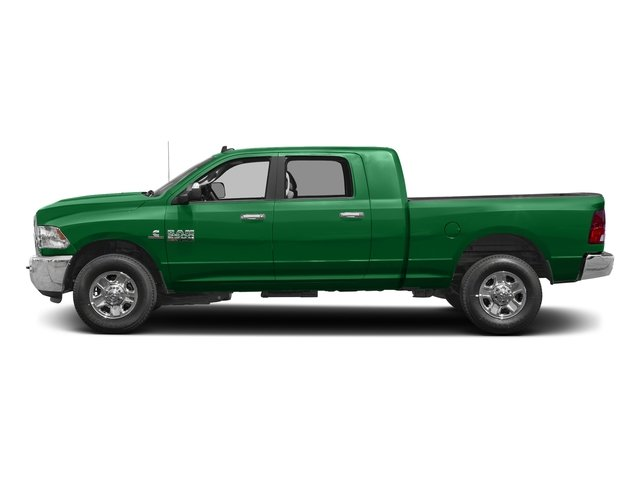 Bright Green 2017 Ram Truck 2500 Pictures 2500 SLT 4x2 Mega Cab 6'4 Box photos side view