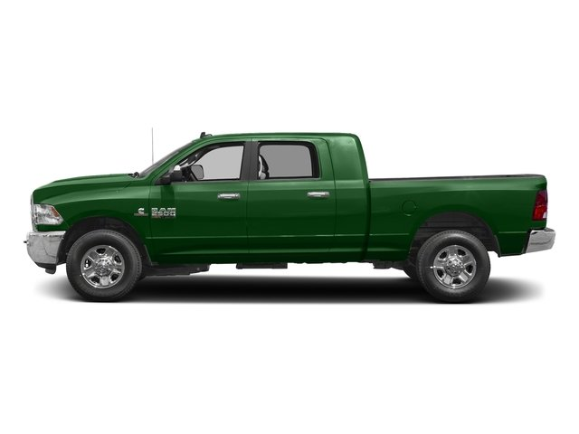 Tree Green 2017 Ram Truck 2500 Pictures 2500 Mega Cab SLT 4WD photos side view
