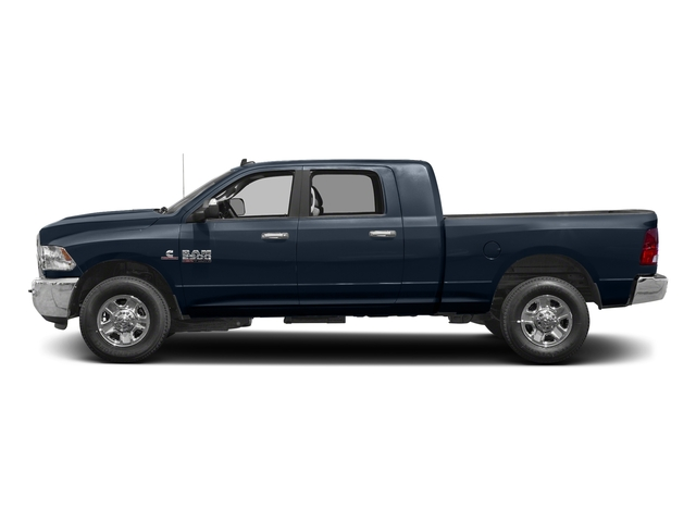 True Blue Pearlcoat 2017 Ram Truck 2500 Pictures 2500 SLT 4x2 Mega Cab 6'4 Box photos side view