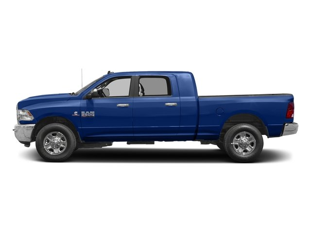 Blue Streak Pearlcoat 2017 Ram Truck 2500 Pictures 2500 SLT 4x2 Mega Cab 6'4 Box photos side view