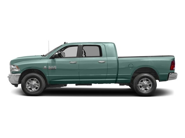 Light Green 2017 Ram Truck 2500 Pictures 2500 SLT 4x2 Mega Cab 6'4 Box photos side view