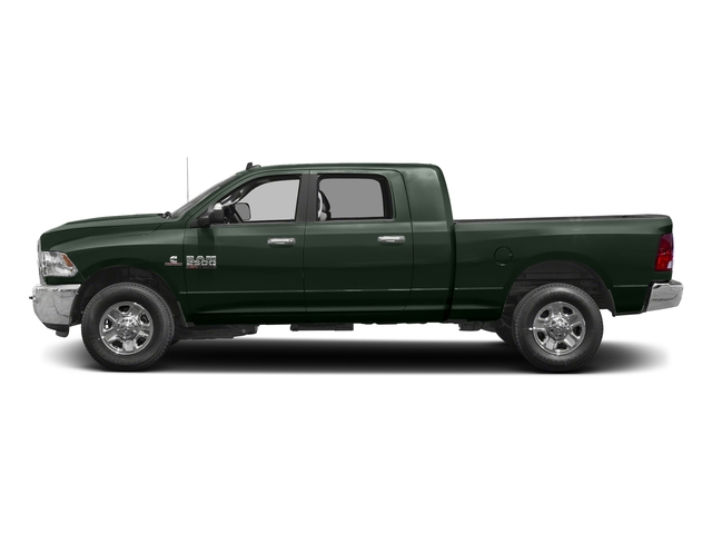Black Forest Green Pearlcoat 2017 Ram Truck 2500 Pictures 2500 SLT 4x2 Mega Cab 6'4 Box photos side view