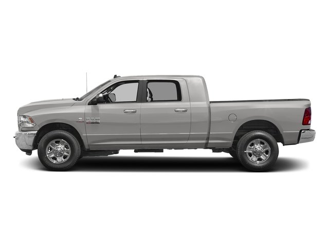 Bright Silver Metallic Clearcoat 2017 Ram Truck 2500 Pictures 2500 Mega Cab SLT 4WD photos side view