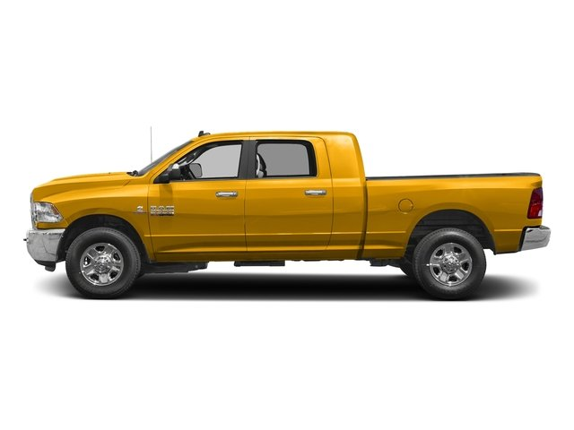 Detonator Yellow Clearcoat 2017 Ram Truck 2500 Pictures 2500 SLT 4x2 Mega Cab 6'4 Box photos side view