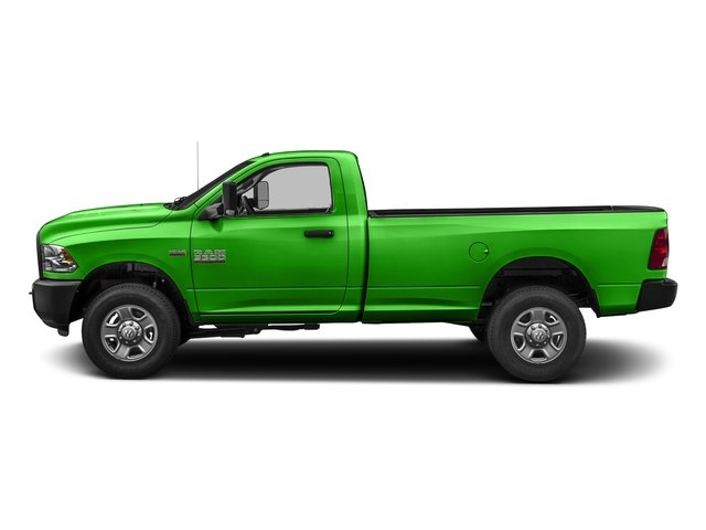 Hills Green 2017 Ram Truck 3500 Pictures 3500 Regular Cab SLT 2WD photos side view