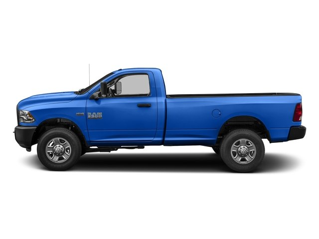 Holland Blue 2017 Ram Truck 3500 Pictures 3500 SLT 4x4 Reg Cab 8' Box photos side view