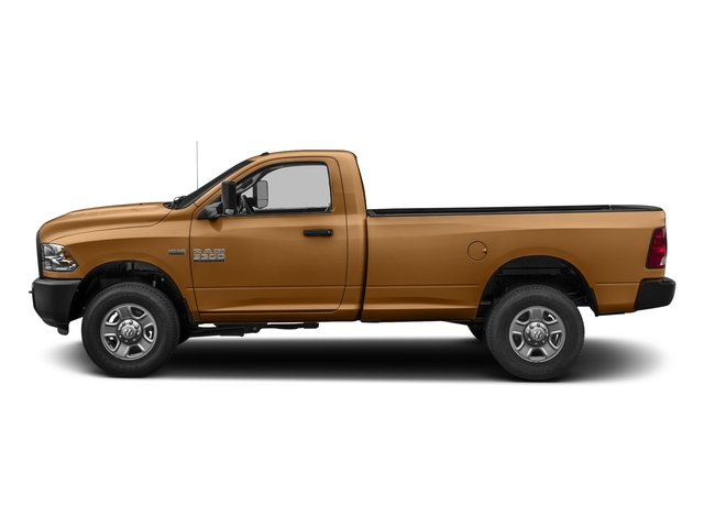 Power Tan 2017 Ram Truck 3500 Pictures 3500 Regular Cab SLT 2WD photos side view
