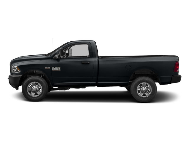 Maximum Steel Metallic Clearcoat 2017 Ram Truck 3500 Pictures 3500 SLT 4x4 Reg Cab 8' Box photos side view
