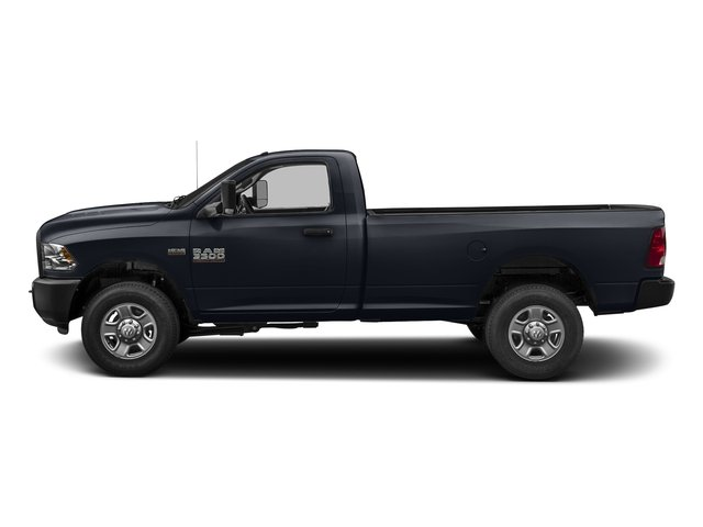 Midnight Blue Pearlcoat 2017 Ram Truck 3500 Pictures 3500 Regular Cab SLT 4WD photos side view