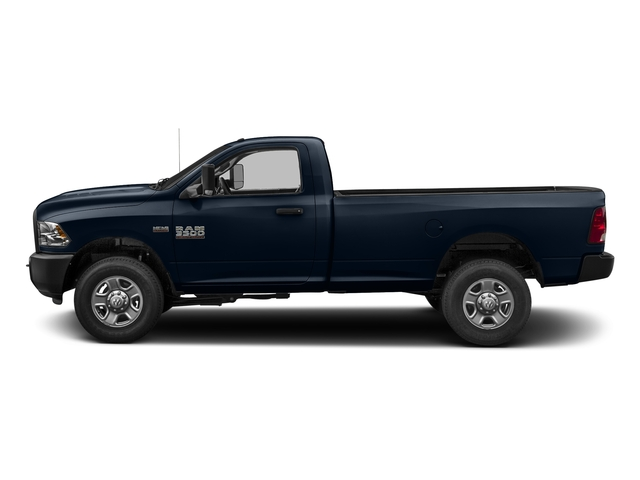 True Blue Pearlcoat 2017 Ram Truck 3500 Pictures 3500 Regular Cab SLT 2WD photos side view