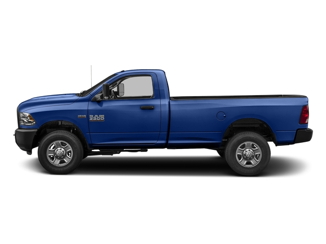 Blue Streak Pearlcoat 2017 Ram Truck 3500 Pictures 3500 SLT 4x4 Reg Cab 8' Box photos side view
