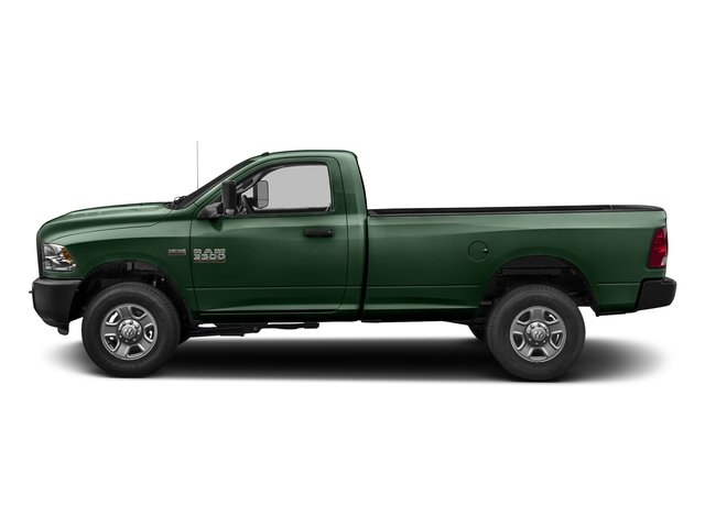Timberline Green Pearlcoat 2017 Ram Truck 3500 Pictures 3500 Regular Cab SLT 2WD photos side view