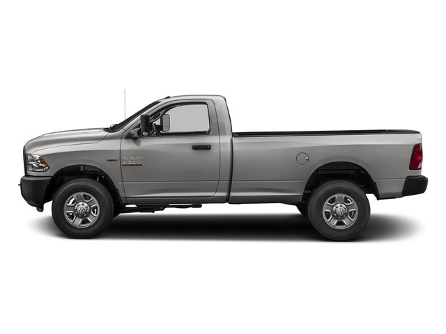 Bright Silver Metallic Clearcoat 2017 Ram Truck 3500 Pictures 3500 Regular Cab SLT 2WD photos side view