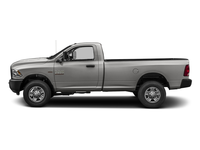 Bright Silver Metallic Clearcoat 2017 Ram Truck 3500 Pictures 3500 Regular Cab SLT 4WD photos side view