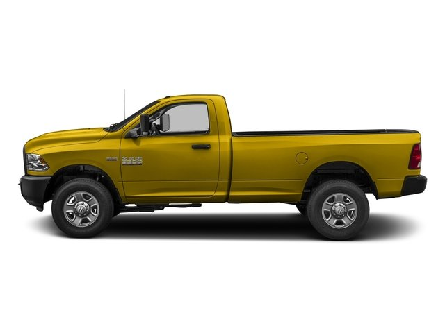 Detonator Yellow Clearcoat 2017 Ram Truck 3500 Pictures 3500 Regular Cab Tradesman 4WD photos side view