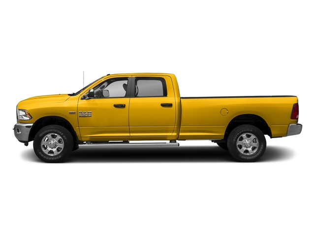 Yellow 2017 Ram Truck 3500 Pictures 3500 Crew Cab SLT 2WD photos side view
