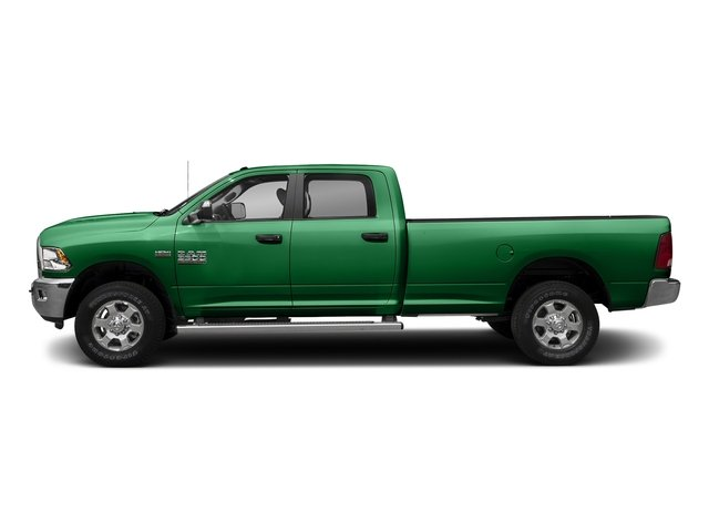Bright Green 2017 Ram Truck 3500 Pictures 3500 Big Horn 4x2 Crew Cab 6'4 Box photos side view