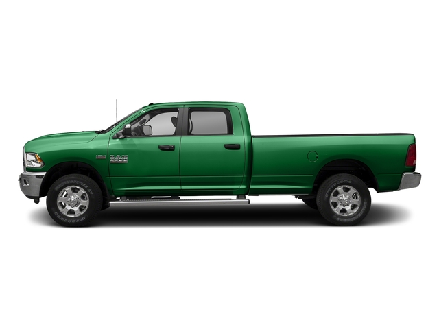 Bright Green 2017 Ram Truck 3500 Pictures 3500 Crew Cab SLT 2WD photos side view