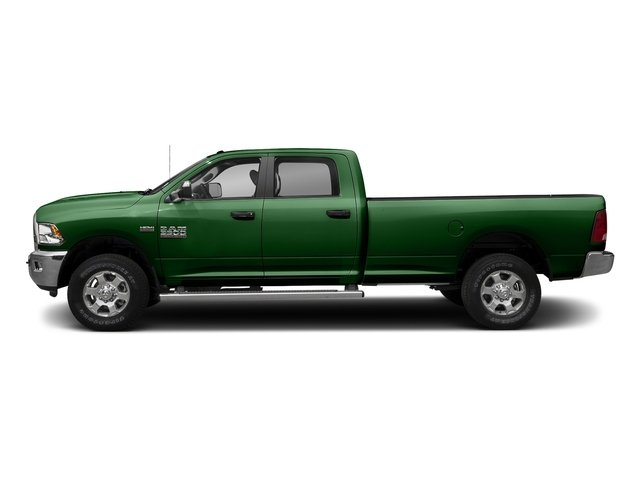 Tree Green 2017 Ram Truck 3500 Pictures 3500 Big Horn 4x2 Crew Cab 6'4 Box photos side view
