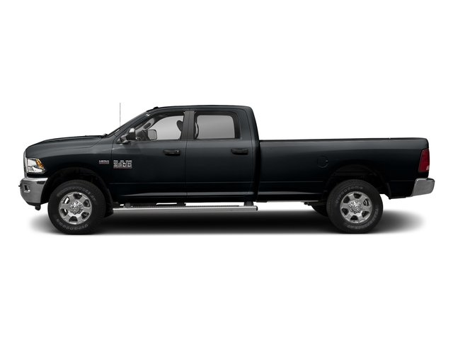 Maximum Steel Metallic Clearcoat 2017 Ram Truck 3500 Pictures 3500 Crew Cab SLT 2WD photos side view