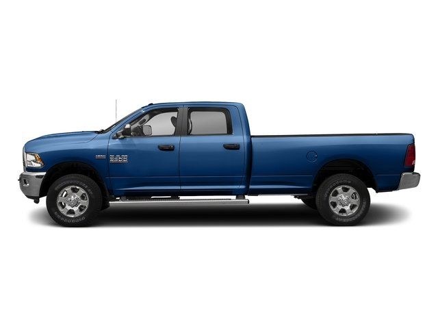 Blue Streak Pearlcoat 2017 Ram Truck 3500 Pictures 3500 Big Horn 4x2 Crew Cab 6'4 Box photos side view