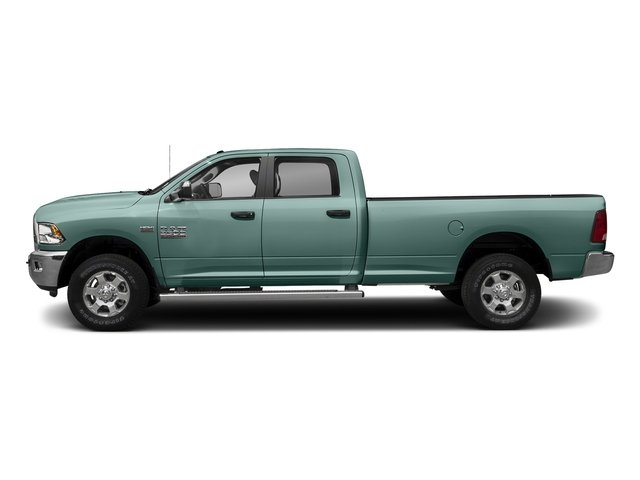Light Green 2017 Ram Truck 3500 Pictures 3500 Big Horn 4x2 Crew Cab 6'4 Box photos side view
