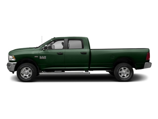Timberline Green Pearlcoat 2017 Ram Truck 3500 Pictures 3500 Big Horn 4x2 Crew Cab 6'4 Box photos side view