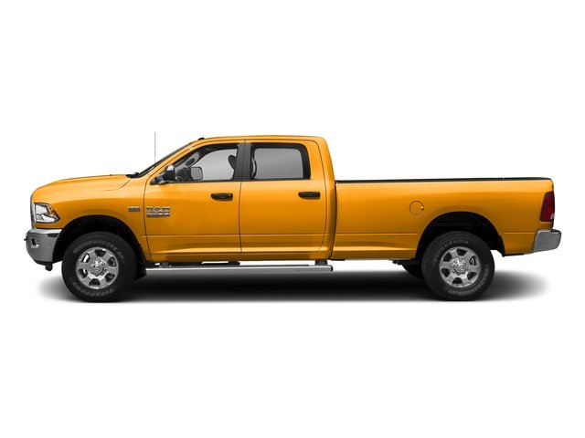 School Bus Yellow 2017 Ram Truck 3500 Pictures 3500 Crew Cab SLT 2WD photos side view