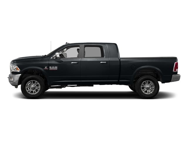 Maximum Steel Metallic Clearcoat 2017 Ram Truck 3500 Pictures 3500 Mega Cab Longhorn 4WD photos side view