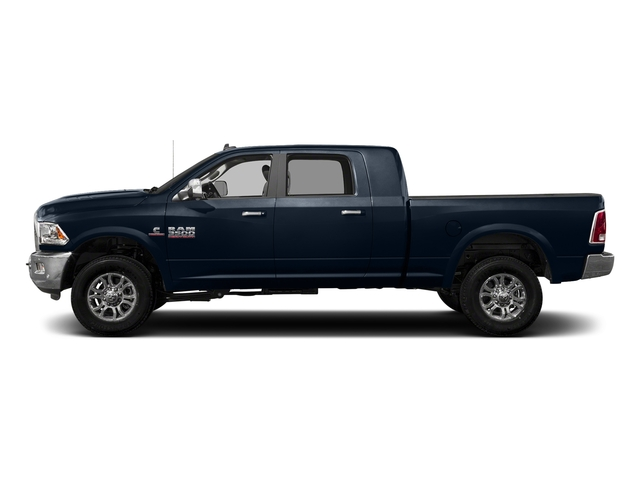 True Blue Pearlcoat 2017 Ram Truck 3500 Pictures 3500 Laramie Longhorn 4x2 Mega Cab 6'4 Box photos side view