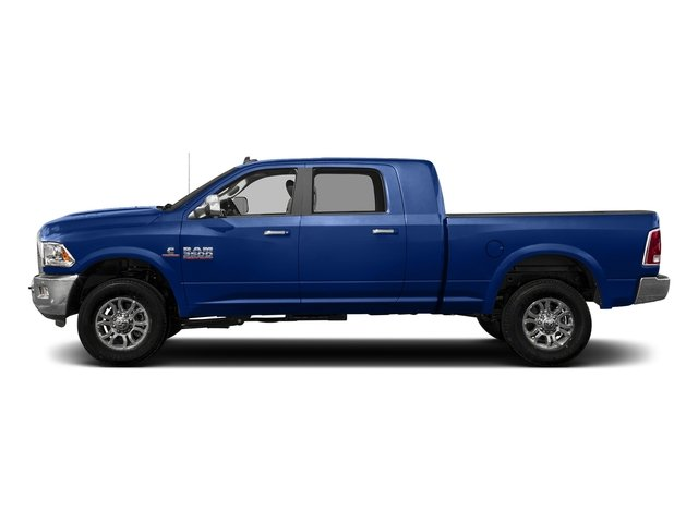 Blue Streak Pearlcoat 2017 Ram Truck 3500 Pictures 3500 Laramie 4x4 Mega Cab 6'4 Box photos side view