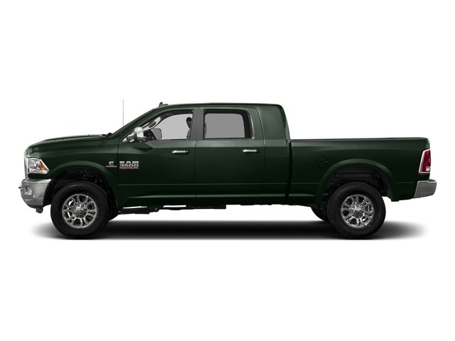 Black Forest Green Pearlcoat 2017 Ram Truck 3500 Pictures 3500 Mega Cab Longhorn 4WD photos side view