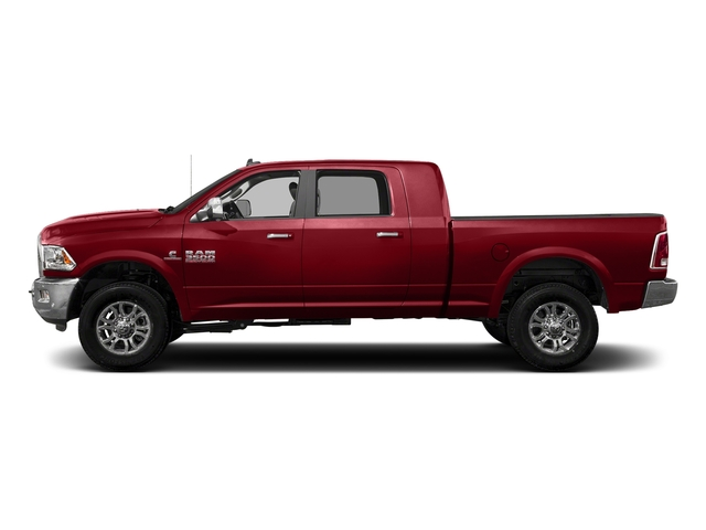 Flame Red Clearcoat 2017 Ram Truck 3500 Pictures 3500 Mega Cab Longhorn 4WD photos side view