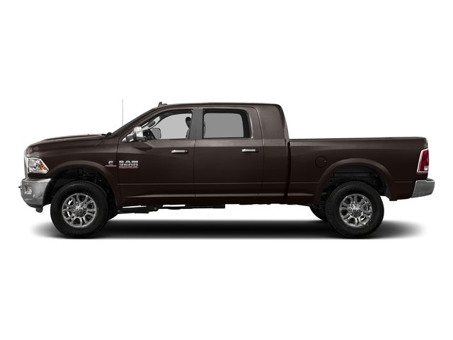 Luxury Brown Pearlcoat 2017 Ram Truck 3500 Pictures 3500 Laramie Longhorn 4x2 Mega Cab 6'4 Box photos side view